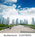 the modern building of the... | Shutterstock . vector #213378091