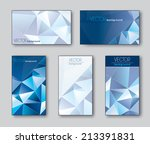 business cards or gift cards.... | Shutterstock .eps vector #213391831
