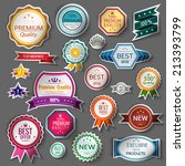 color sale premium quality best ... | Shutterstock .eps vector #213393799
