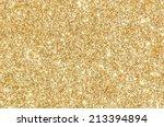 golden glitter texture... | Shutterstock . vector #213394894
