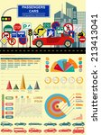 passenger car  transportation... | Shutterstock .eps vector #213413041