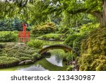 Hdr Picture Of Japanese Garden...
