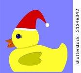 vector of yellow rubber duck... | Shutterstock .eps vector #21346342