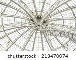 White Glass Dome