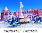 nizza  cote d'azur  france | Shutterstock . vector #213495691