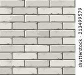 vector brick wall background... | Shutterstock .eps vector #213499579