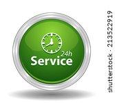 beautiful service work hours... | Shutterstock . vector #213522919