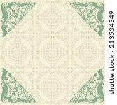 vector ornate element in... | Shutterstock .eps vector #213534349