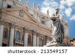 St. Peter  Vatican City. Low...