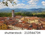 Panorama Of Lucca From The...