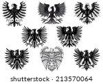 heraldic royal medieval eagles...