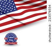 labor day  united states of... | Shutterstock .eps vector #213578554