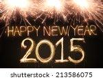 Happy New Year 2015 Written...
