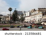 tangier  morocco   may 21  the... | Shutterstock . vector #213586681