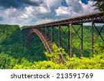 The New River Gorge Bridge ...