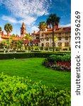 Gardens And Ponce De Leon Hall...