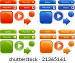 collection of many colored ... | Shutterstock .eps vector #21365161
