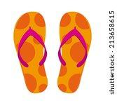 summer design over white ... | Shutterstock .eps vector #213658615