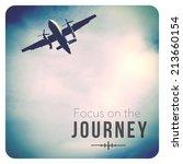 inspirational typographic quote ... | Shutterstock . vector #213660154