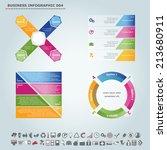 vector infographic template  ... | Shutterstock .eps vector #213680911