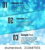 abstract vector background ... | Shutterstock .eps vector #213687031