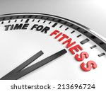 clock with words time for... | Shutterstock . vector #213696724