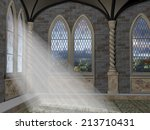 God Rays Streaming Through A...