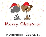 christmas card | Shutterstock . vector #21372757