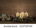 Advent Wreath Or Crown With...