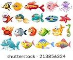 illustration of different kinds ... | Shutterstock .eps vector #213856324