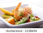 Salad Or Apetizer With Shrimp...