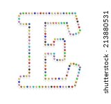 Illustration Of E Letter...