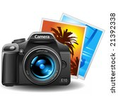 Vector Photo Camera With...