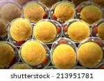 field of  fat cells  high...   Shutterstock . vector #213951781