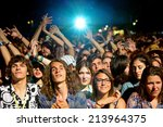 benicassim  spain   july 18 ... | Shutterstock . vector #213964375