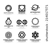 science icons  5  | Shutterstock .eps vector #214017571