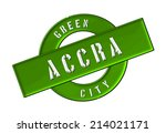 green city accra | Shutterstock . vector #214021171