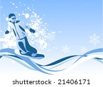 cool composition with a... | Shutterstock .eps vector #21406171
