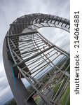tiger and turtle sculpture... | Shutterstock . vector #214064881