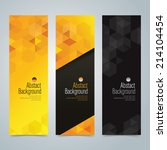 collection banner design ... | Shutterstock .eps vector #214104454