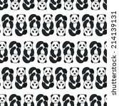 seamless pattern with cute... | Shutterstock . vector #214139131
