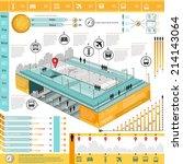 city transport info graphic... | Shutterstock .eps vector #214143064