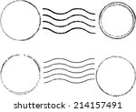set of grunge rubber stamp  | Shutterstock .eps vector #214157491