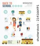 education school template... | Shutterstock .eps vector #214166491