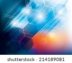 abstract background of... | Shutterstock .eps vector #214189081