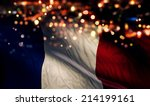 france national flag light... | Shutterstock . vector #214199161