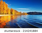 Autumn Landscape  Lake Wanaka ...
