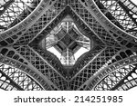 the eiffel tower  view from...   Shutterstock . vector #214251985