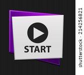 beautiful start web icon   Shutterstock .eps vector #214256821
