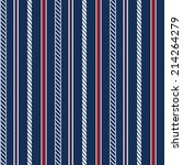 seamless pattern with nautical... | Shutterstock . vector #214264279